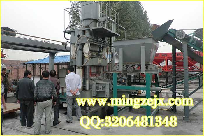 河南年产3000万全自动制砖机