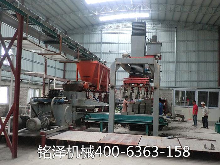 广东全自动灰砂制砖机